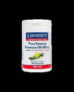 Lamberts Συμπλήρωμα Διατροφής Pure Evening Primrose Oil Gla 500mg 8507-180 180Caps