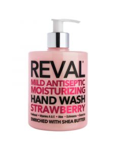 Reval Mild Antiseptic Moisturizing Hand Wash Strawberry Καθαριστικό Χεριών 500ml