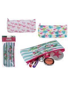 Roxan Flamingo Νεσεσέρ Καλλυντικών Σε 3 Σχέδια 1Τμχ