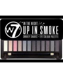 W7 Up In Smoke Eyeshadow Palette 1 Τμχ