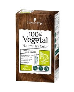 Schwarzkopf Hair Color Nut Brown 100% Φυτική Βαφή Μαλλιών Καστανό Καρυδί
