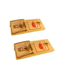 Benson Ποντικοπαγιδες Ξυλινες 006446 2 Τμχ