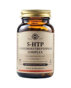 Solgar 5-HTP Hydroxytryptophan Σύμπλεγμα L-5-Υδροξυτρυπτοφάνης με Βαλεριάνα & Βιταμίνη B6 90 Φυτικές Κάψουλες
