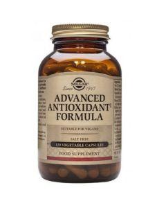 Solgar Advanced Antioxidant Formula Αντιοξειδωτική Φόρμουλα Για Την Αντιμετώπιση Των Ελευθέρων Ριζών 120 Φυτικές Κάψουλες
