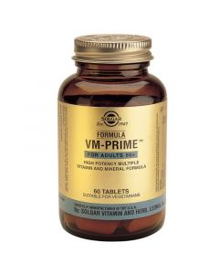 Solgar Formula Vm-Prime Φόρμουλα Βιταμινών Μετάλλων & Ιχνοστοιχείων για Γυναίκες & Άνδρες Άνω των 50 60 Ταμπλέτες