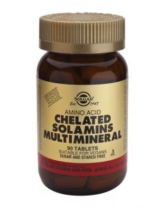 Solgar Solamins Chelated Multi Mineral 90tabs