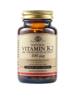 Solgar Vitamin K2 100mg 50caps