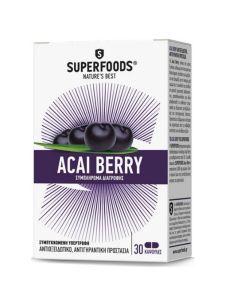 Superfoods Acai Βerry 30caps
