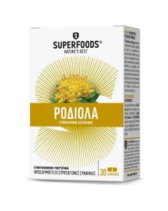 Superfoods Ροδιόλα Συμπλήρωμα Διατροφής 30Caps