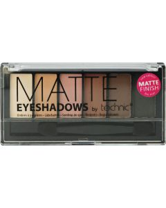 Technic Matte Eyeshadows Σκιές Ματιών Γήινες Αποχρώσεις 7.2gr