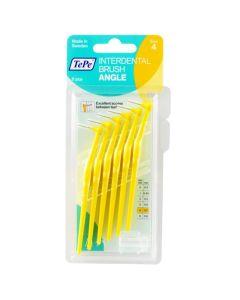 Tepe Μεσοδόντια Βουρτσάκια Size 4 Angle 0.7mm Κίτρινο 6τμχ
