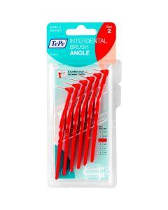 Tepe Μεσοδόντια Βουρτσάκια Size 2 Angle 0.5mm Κόκκινο 6Τμχ