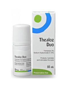 Thea Thealoz Duo Οφθαλμικές Σταγόνες - Κολλύριο που Ενυδατώνει & Λιπαίνει τα Μάτια 10ml