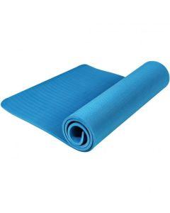 TPE Yoga Mat Οικολογικό Στρώμα Γυμναστικής Yoga-Πιλάτες Χρώμα Γαλάζιο | Dpharmacy.gr