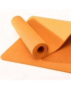TPE Yoga Mat Οικολογικό Στρώμα Γυμναστικής Yoga-Πιλάτες Χρώμα Πορτοκαλί | Dpharmacy.gr