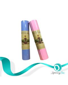 TPE Yoga Mat Eco Friendly Οικολογικά Στρώματα Γυμναστικής Yoga Pilates Γαλάζιο & Ροζ 6mm 60x180cm 2τμχ & Δώρο Papoutsanis Natura Αντισηπτικό Gel Χεριών 80% 400ml Με Αντλία