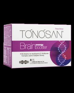 Uni-Pharma Tonosan Brain Energy Booster Συμπλήρωμα Διατροφής Για Την Ενίσχυση Της Πνευματικής Απόδοσης & Μνήμης 15x7ml