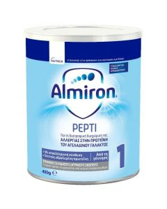 Nutricia Almiron Pepti 1 Allergy Care Γάλα Για Βρέφη 0-6 Μηνών 450Gr