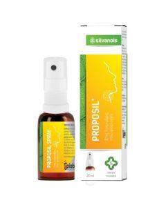 Uplab Silvanols Proposil Spray Για Λοιμώξεις & Φλεγμονές Στοματοφαρυγγικής Κοιλότητας 20ml