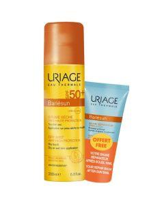 Uriage Πακέτο Promo Set Bariesun SPF50+ Σετ Αντιηλιακό Spray Για Πρόσωπο Σώμα 200ml & Δώρο After Sun Balm Γαλάκτωμα Για Μετά Τον Ήλιο 50ml