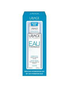 Uriage Eau Thermale Κρέμα Νερού για Όλους τους Τύπους Δέρματος 40ml & ΔΩΡΟ Μάσκα Νερού Νύκτας 15ml