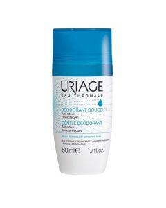Uriage Gentle Deodorant Αποσμητικό Χωρίς Άλατα Αλουμινίου 24Ωρης Δράσης 50ml