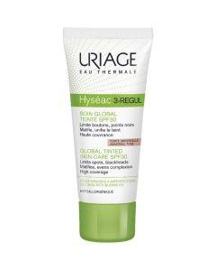 Uriage Hyseac 3 Regul SPF30 Ενυδατική Κρέμα Προσώπου Με Χρώμα 40ml