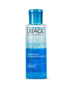 Uriage Waterproof Eye Make-Up Remover Διφασικό Ντεμακιγιάζ Ματιών 100ml