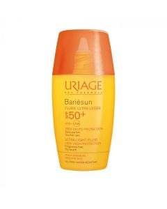 Uriage Bariesun Ultra Light Fluid SPF50+ Αντιηλιακή Προσώπου Χωρίς Άρωμα 30ml