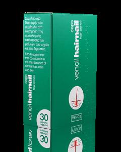 Vencil Hairnail Συμπλήρωμα Διατροφής Για Μαλλιά Νύχια & Δέρμα 30Caps