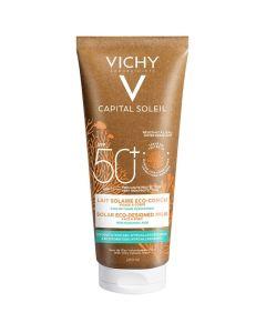 Vichy Capital Soleil Eco Designed Αντιηλιακό Γαλάκτωμα SPF50+ Για Πρόσωπο & Σώμα Οικολογικά Σχεδιασμένο 200ml