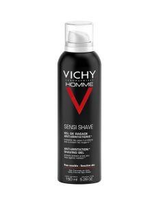 Vichy Homme Sensi Shave Gel Ξυρίσματος Κατά Των Ερεθισμών 150ml