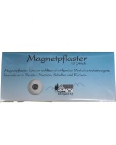 Vom Pullach Hof Magnetpflaster Έμπλαστρα Σε Μικρό Μέγεθος Για Μυϊκούς Πόνους 10τμχ