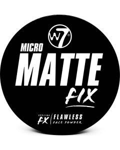 W7 Cosmetics Micro Matte Fix Flawless Face Powder Fair 6Gr
