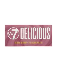 W7 Delicious Natural & Berry Παλέτα με 14 Σκιές Ματιών 11.2g