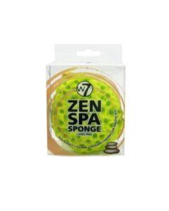 W7 Zen Spa Sponge Σφουγγάρι για Καθαρισμό και Απολέπιση Πράσινο