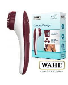 Wahl Compact Massage Συσκευή Μασάζ Για Πρόσωπο & Σώμα με 3 Κεφαλές 1τμχ