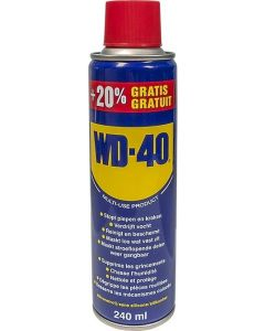 Wd-40 Spray Λαδιού Αντισκουριακό - Λιπαντικό 240ml