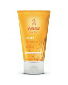 Weleda Μάσκα Αναδόμησης Με Βρώμη Για Ξηρά & Ταλαιπωρημένα Μαλλιά 150ml