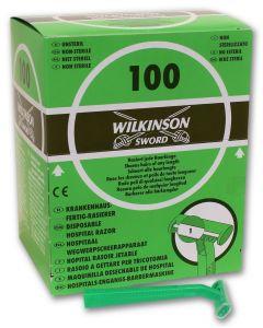 Wilkinson Hospital Razor Ξυραφάκια Μιας Χρήσης 100τμχ