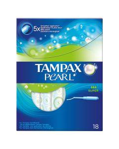 Tampax Pearl Super Ταμπόν 18 Τμχ
