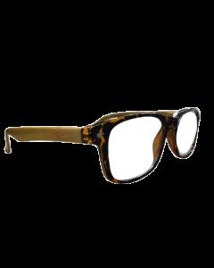 Benson Woodland Γυαλιά Διαβάσματος Απομίμηση Ξύλου Καφέ Χρώμα 1 Τμχ