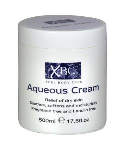 Xbc Υδατική Βάση Κρέμας Aqueous Cream 500ml | Dpharmacy.gr