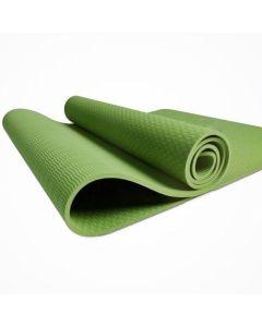 TPE Yoga Mat Οικολογικό Στρώμα Γυμναστικής Yoga-Πιλάτες Χρώμα Πράσινο