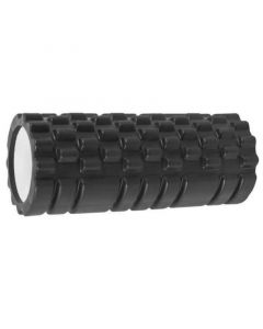 Yoga Roller Κύλινδρος για Pilates και Crossfit 33cm Μαύρο 1τμχ