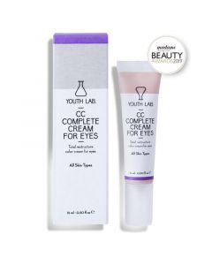 Youth Lab CC Complete Cream Κρέμα Ματιών Ολικής Αναδόμησης με Χρώμα για Όλους τους Τύπους Δέρματος 15ml