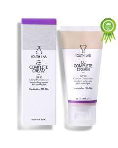 Youth Lab CC Complete Cream Spf30 για Λιπαρό και Μικτό Δέρμα 50ml