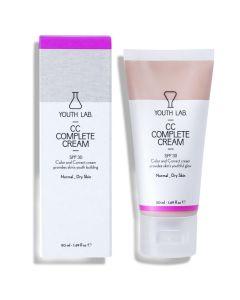 Youth Lab CC Complete Cream Spf30 για Κανονικό Ξηρό Δέρμα 50ml