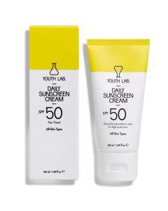 Youth Lab Daily Sunscreen Cream Spf50 Αντιηλιακή Κρέμα Προσώπου 50ml