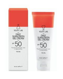 Youth Lab Daily Sunscreen Gel Cream Spf50 για Λιπαρό Δέρμα 50ml